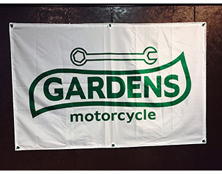GARDENS MOTORCYCLE